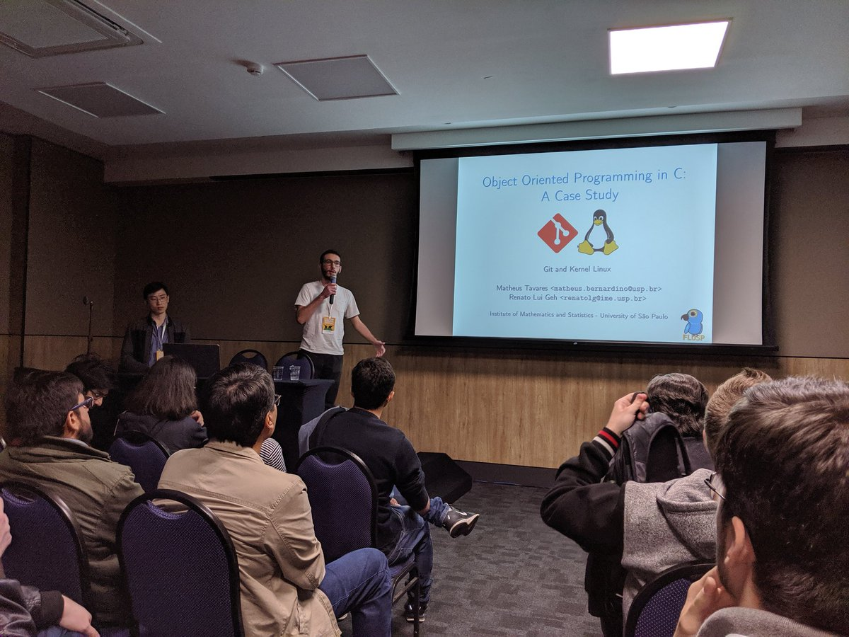 OOP a case study at linuxdev-br